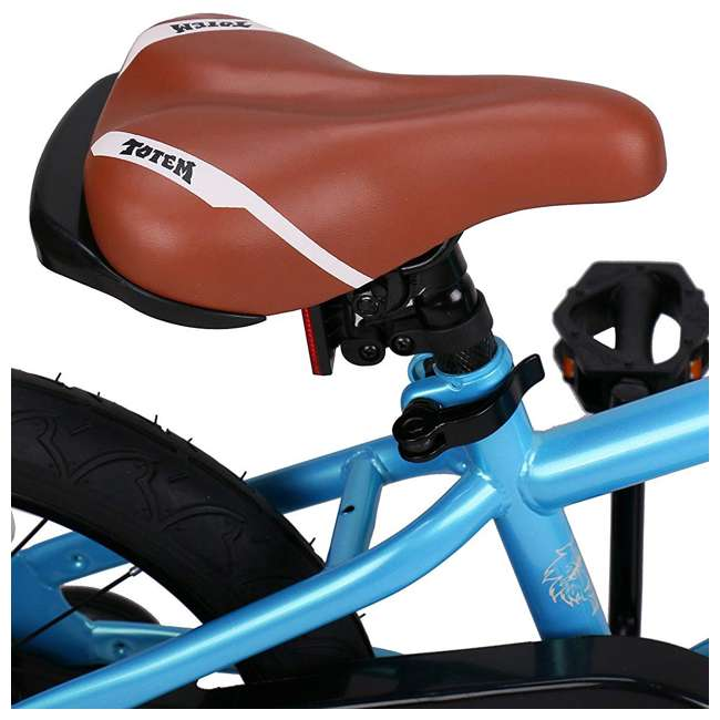 BIKE016-18 JOYSTAR Totem Series Premium Steel Body 18-Inch Kids Bike with Kickstand, Blue 3