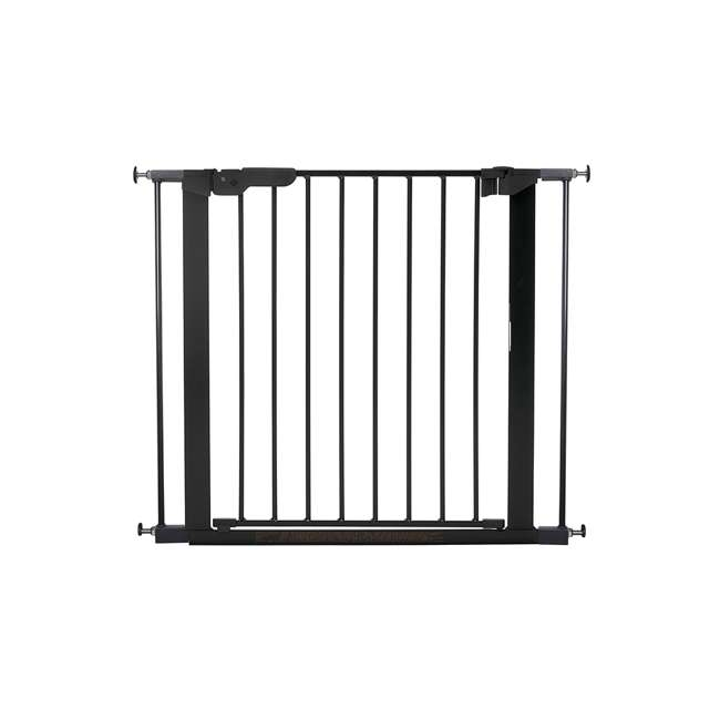 BBD-60116-5692 BabyDan Premier True Pressure Fit 28.9-36.7 Inch Doorway Safety Baby Gate, Black 1