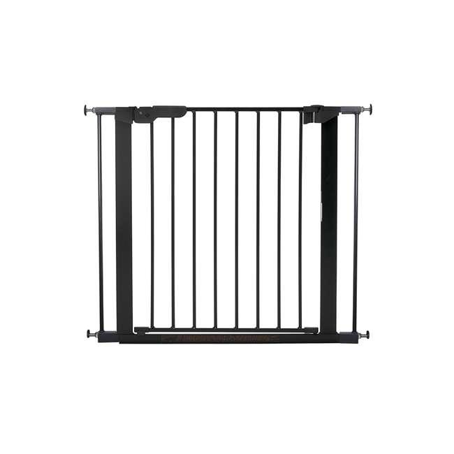 BBD-60116-5692 BabyDan Premier True Pressure Fit 28.9-36.7 Inch Doorway Safety Baby Gate, Black