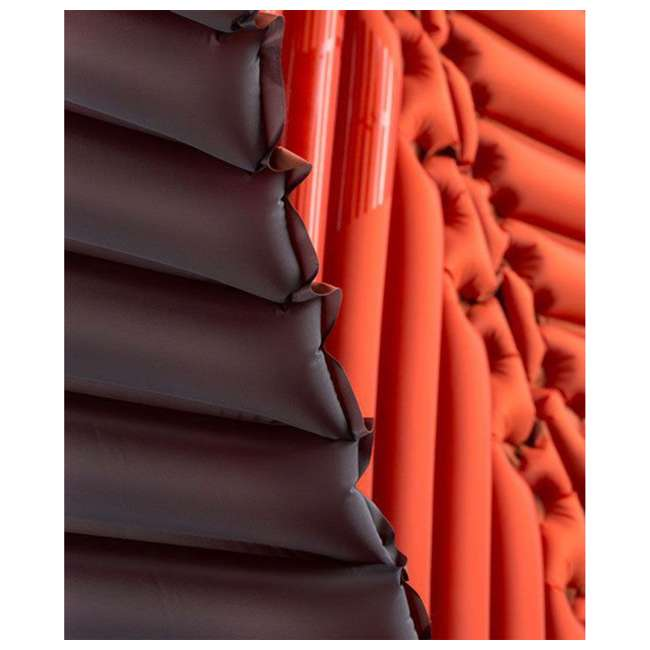 06IHRD01D Klymit Hammock V Camping Outdoor Hiking Insulated Lightweight Sleeping Pad, Red 3