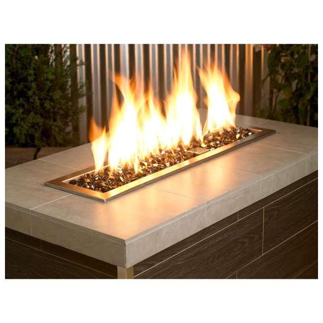 AFF-BLKRF12-10 American Fireglass 10 LB Bag 1/2 Inch Reflective Fireplace & Pit Glass, Black 4