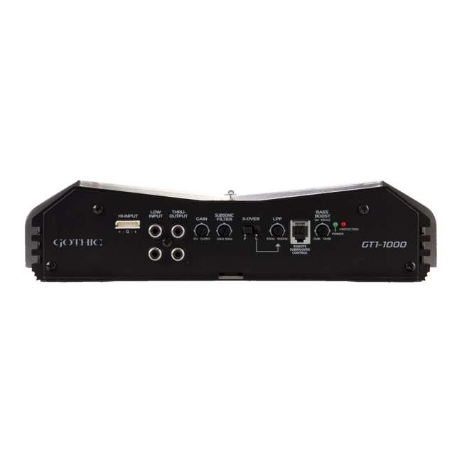 GT11000 Power Acoustik Gothic GT1-1000 1000W Mono A/b Amplifier Amp Stereo GT11000 3