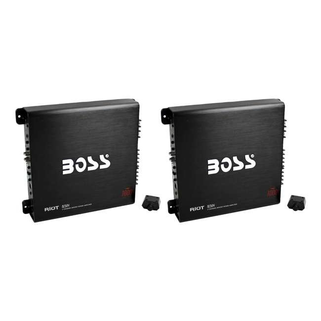 R2504 Boss Audio 1000-Watt 4-Channel Amplifier (2 Pack)