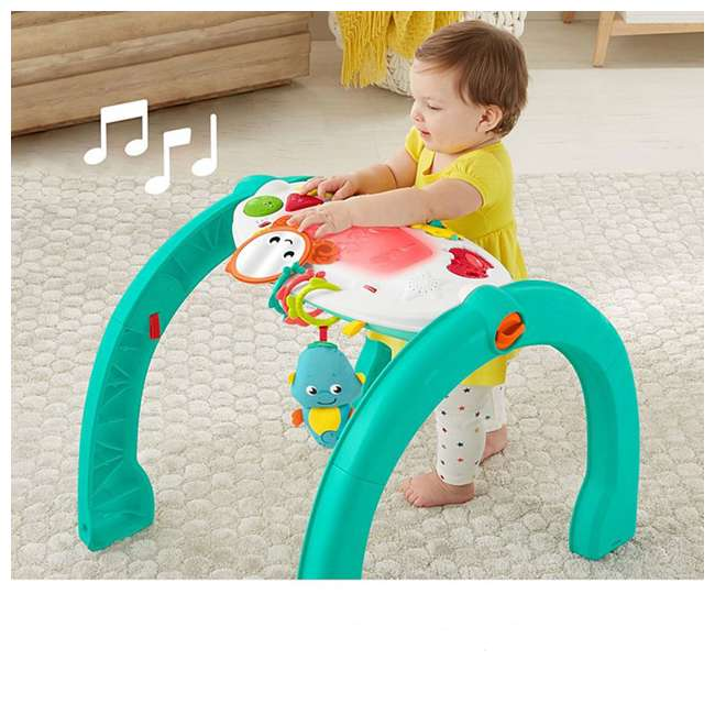 FXT05 Fisher Price 4 in 1 Ocean Infant to Toddler Baby Activity & Learning Play Center 2