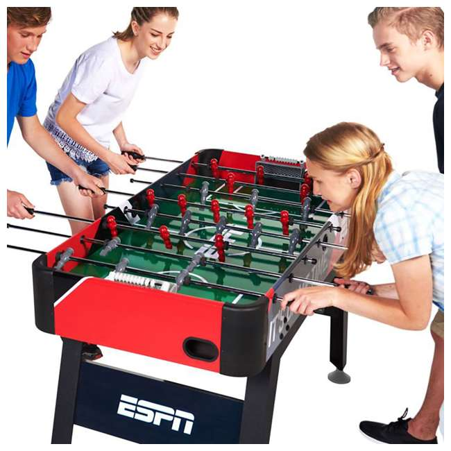 1625417 MD Sports ESPN 54-Inch Foosball Soccer Table with Accessories (2 Pack) 4