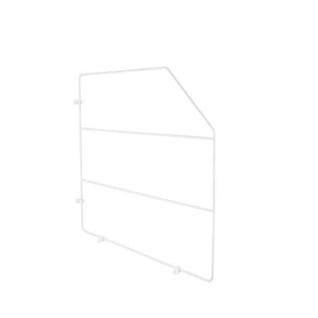 597-18-52 Rev-A-Shelf 597-18-52 18 Inch Bakeware Wire Kitchen Cabinet Organizer, White