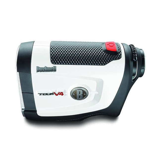 BGOLF-201660-OB Bushnell Golf Tour V4 Laser Rangefinder with JOLT Technology, White (Open Box) 1