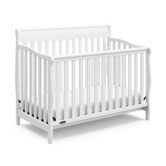 06711-300 + 04530-661 Graco Crib d Mattress & Graco Stanton 4-in-1 Convertible Crib 10