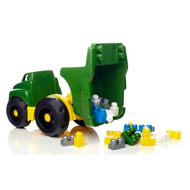 DBL30 Mega Bloks John Deere Dump Truck 2