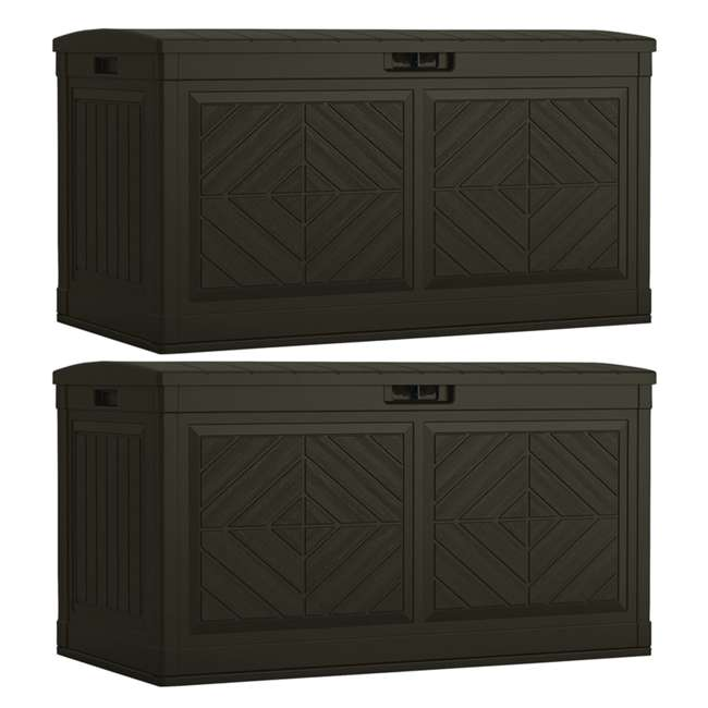BMDB80J 80-Gallon Deck Box, Java (2 Pack)