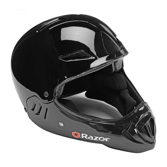 97878 Razor Full Face Child Helmet, Gloss Black (2 Pack) 1