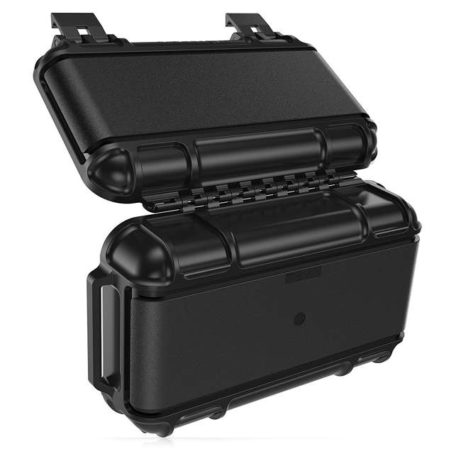 77-54442 OtterBox 3250 Series 0.9 Liter Small Lockable Waterproof Storage Drybox, Black 6