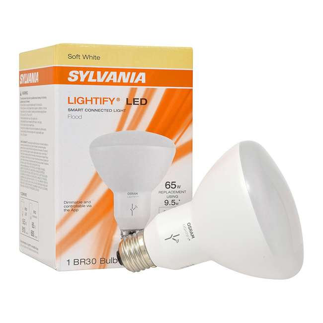 12 x SYL-73807 Sylvania Lightify BR30 Smart LED Reflector Bulb (Needs Hub) (12 Pack) 2