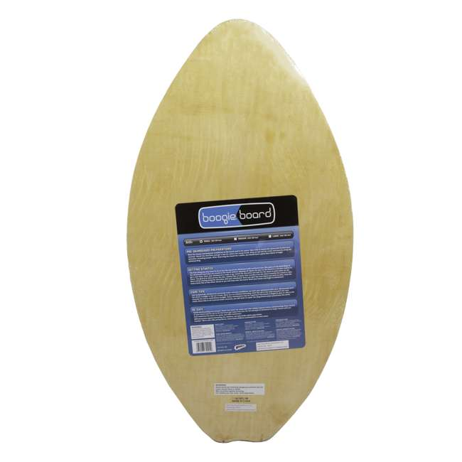 WMO-34068 Wham-O 34068 35.5 Inch Beginner Wave Riding Boogie Board Eva Skimboard, Blue 1