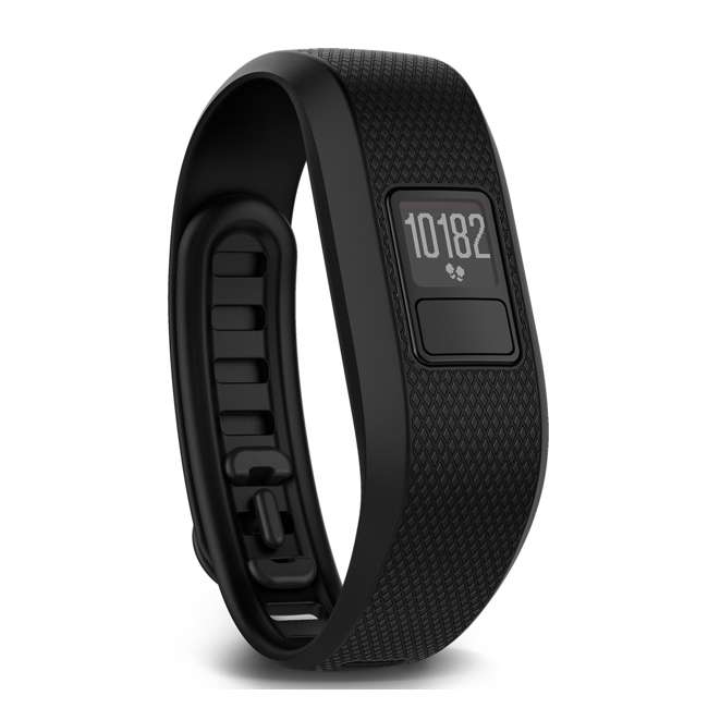 VF33R-REGB Garmin Vivofit 3 Fitness Activity Tracker, Regular Black