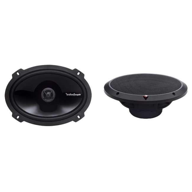P1650 + P1692 2) Rockford Fosgate P165 6.5-Inch 110W + 2) 6x9-Inch 150W 2-Way Speakers (Package) 5