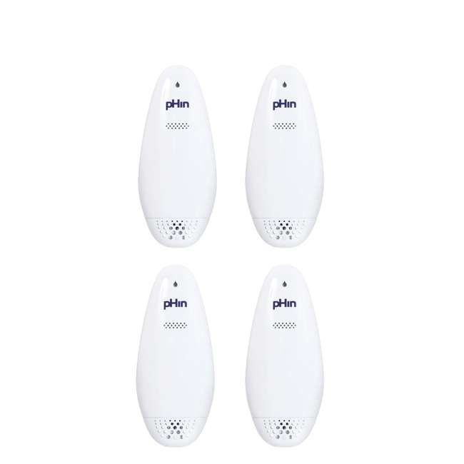 4 x HPR1710 pHin Wifi Enabled Smart Water Care Chemical Monitor (4 Pack)