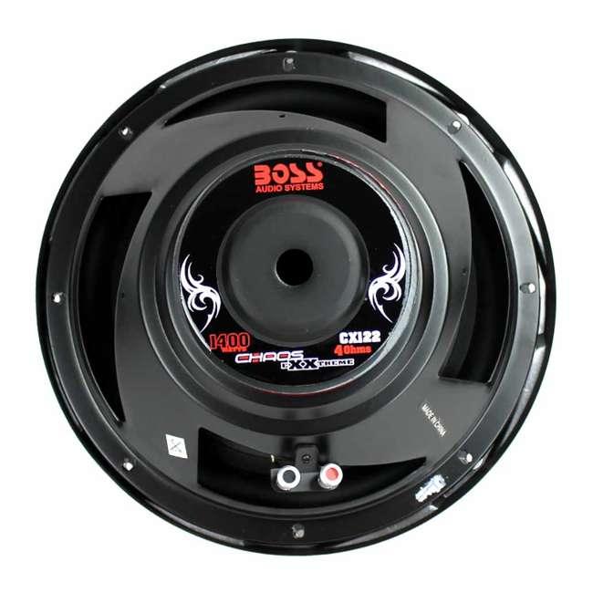 CX122 Boss Audio CX122 12-Inch 1400-Watt Subwoofer 4