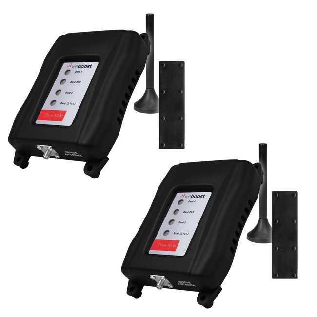 470108R-RB weBoost Drive 4G-M Cell Phone Signal-Booster (2 Pack) (Certified Refurbished)