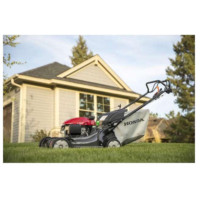 HRX217K6HYA Honda HRX217K6HYA 21 Inch 4 In 1 Versamow System Gas Walk Behind Lawn Mower, Red 3