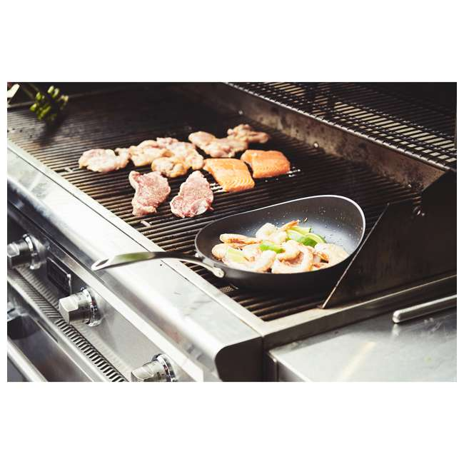 RD-1PAN-HA-3.5-BL-8 Rad USA Hard-Anodized Non-Stick 8.5-Inch Radical Cooking Pan w/ Stay Cool Handle 5
