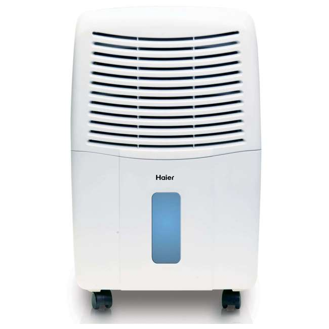 DE65EM-U-C Haier 2 Speed Portable Electronic Air Indoor Dehumidifier with Drain (For Parts)