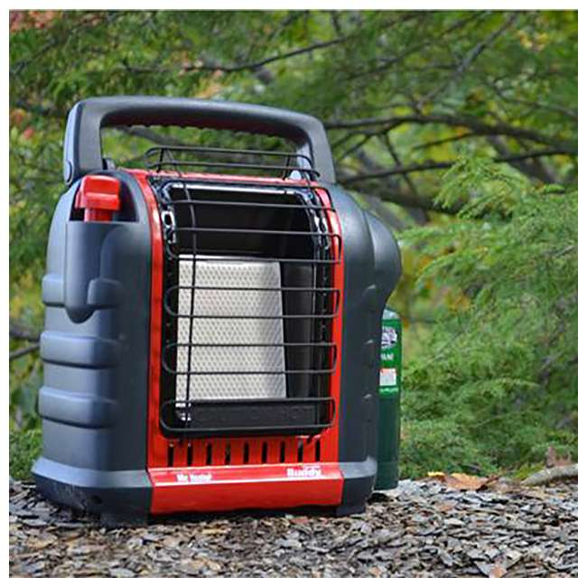MH-F232000 + MH-13432 Mr. Heater Portable Buddy Propane Gas Heater with Carry Bag 2