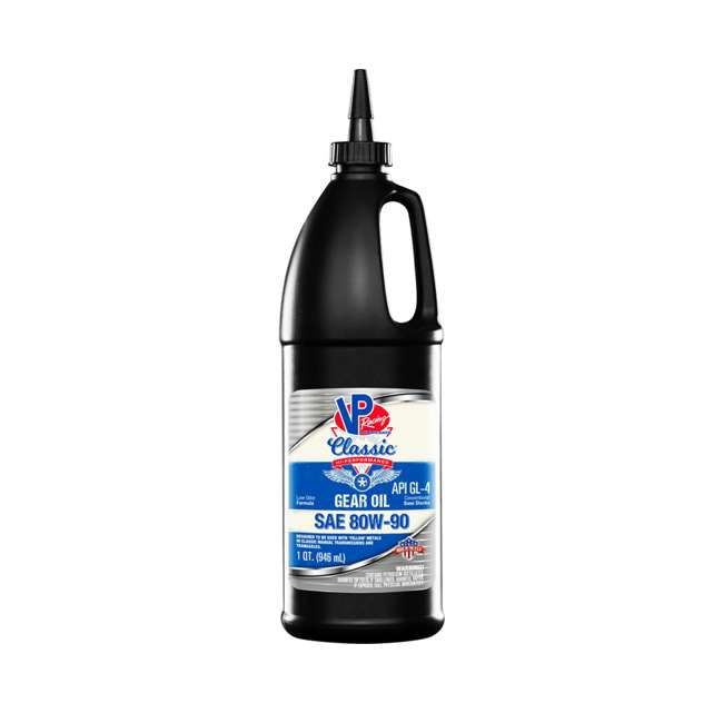 12 x 2703 VP Racing Fuels Hi Performance Classic GL-4 Gear Oil, Quart SAE 80W-90 (12 Pack) 1