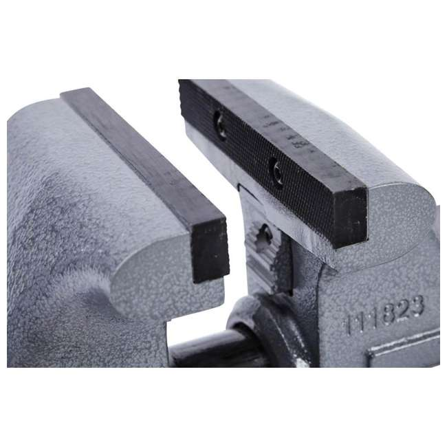JPW-28807 Wilton Tradesman 6.5 In Jaw Width Steel Swivel Base Anvil Work Bench Vise (2) 5