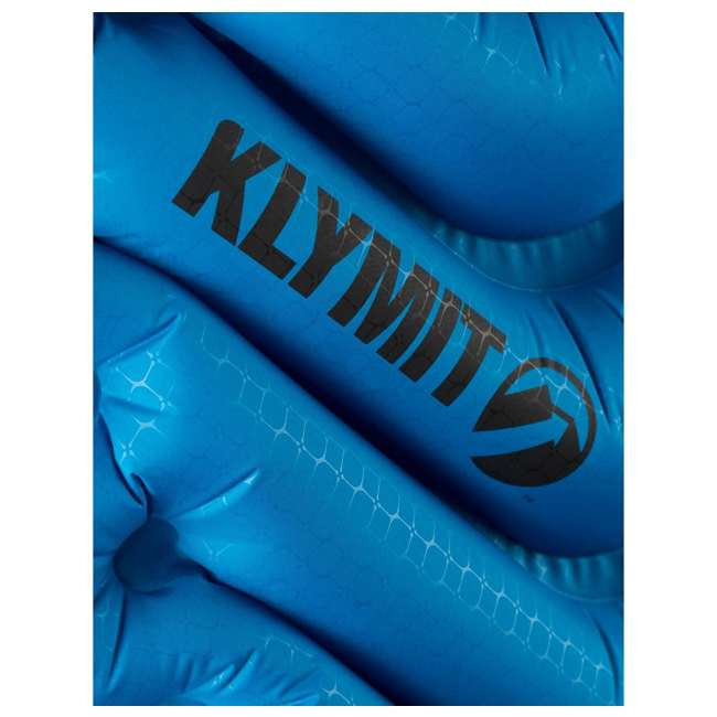 06SUBL01C Klymit Static V Ultralite SL Inflatable Sleeping Pad, Blue 4