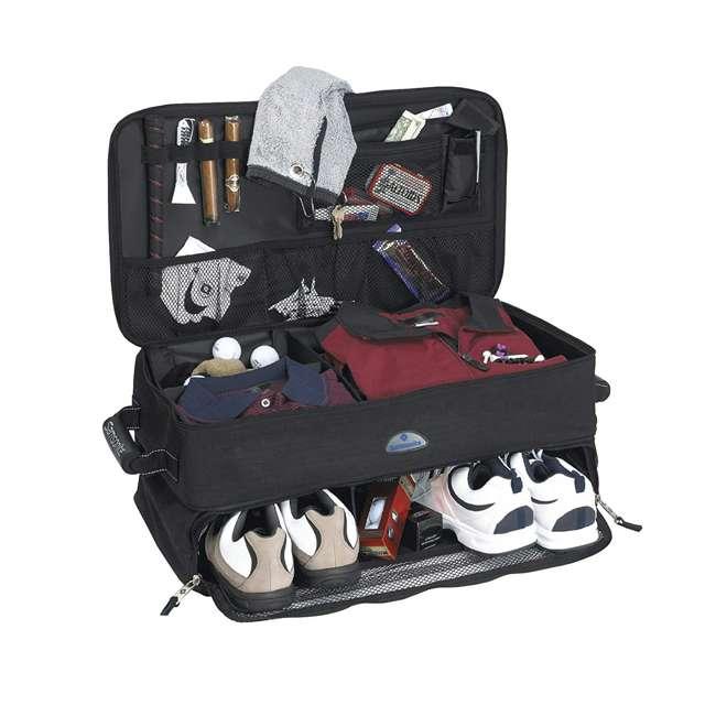 615BLK Samsonite Car Trunk Organizer Bag for Golf Accessories/ Gear w/ Dividers, Black
