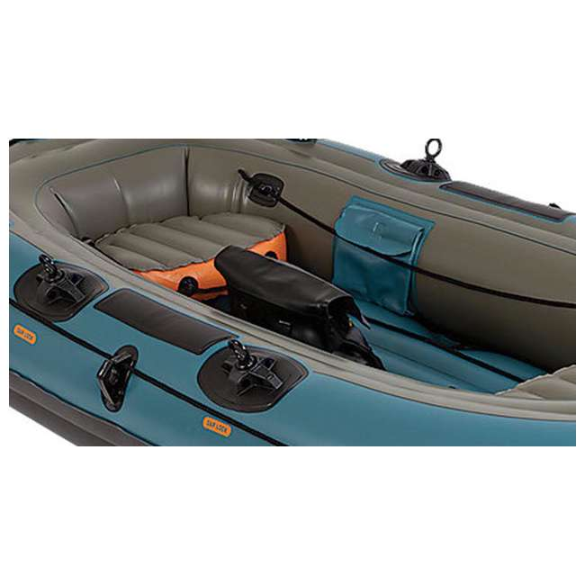 Sevylor 3409 fish hunter 4 person inflatable boat 2000003409 for 4 person fishing boat