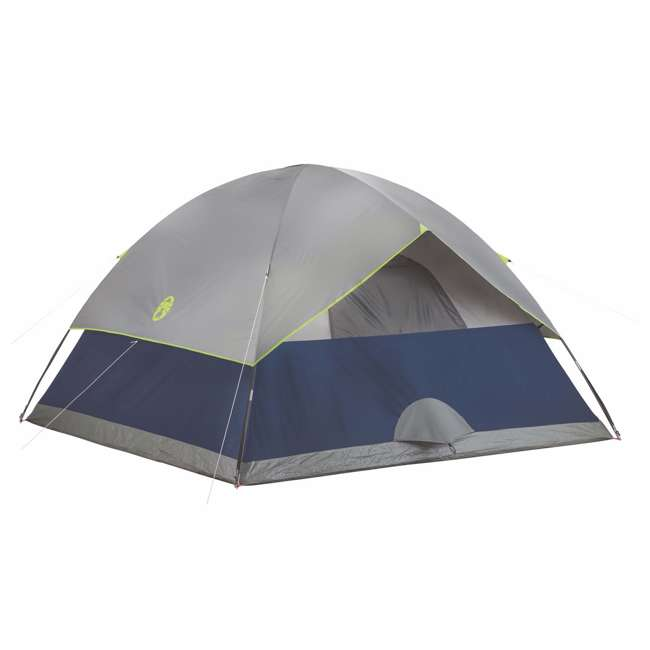 2000024583 Coleman Sundome 6 Person Tent w/ Rainfly (2 Pack) 2