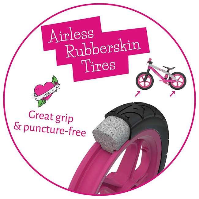 CPMX02PIN Chillafish BMXie Balance Bike with Airless Rubberskin Tires, Green 5