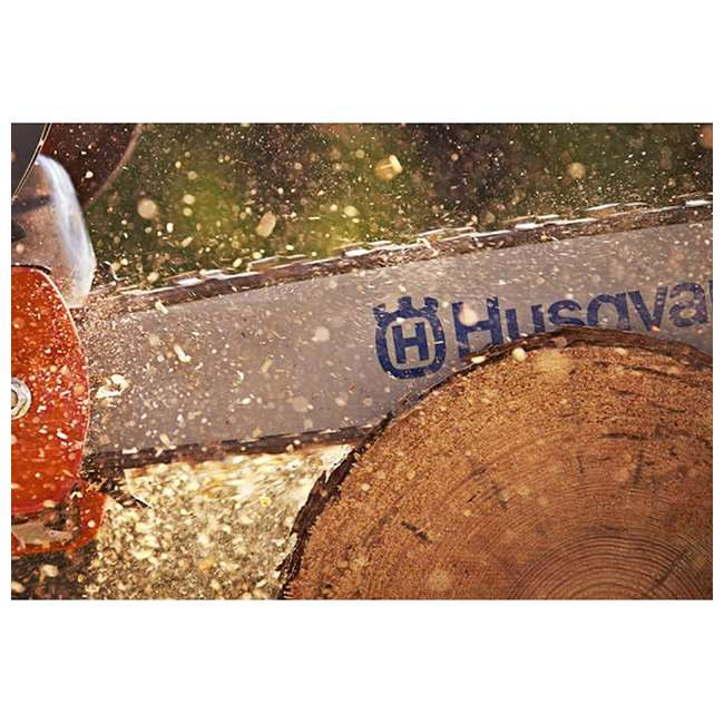 "967166003-BRC-RB-U-C Husqvarna 440 18"" 40.9cc 2.4HP 2 Cycle Gas Chainsaw (Refurb) (For Parts)(2 Pack) 4"