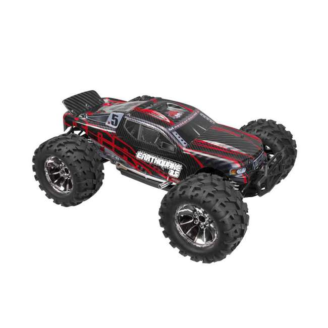 EARTHQUAKE3.5-NEW-RED Redcat Racing Earthquake 3.5 1/8 Scale Nitro Remote Control Monster Truck Toy