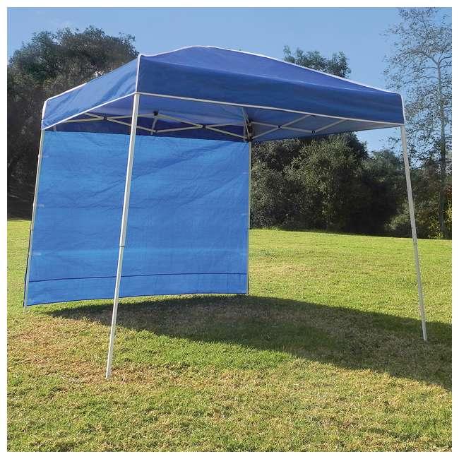 ZS10ALTSWBL Z-Shade 10 x 10-Foot Canopy Tent Taffeta Sidewall Accessory, 2-Pack 5