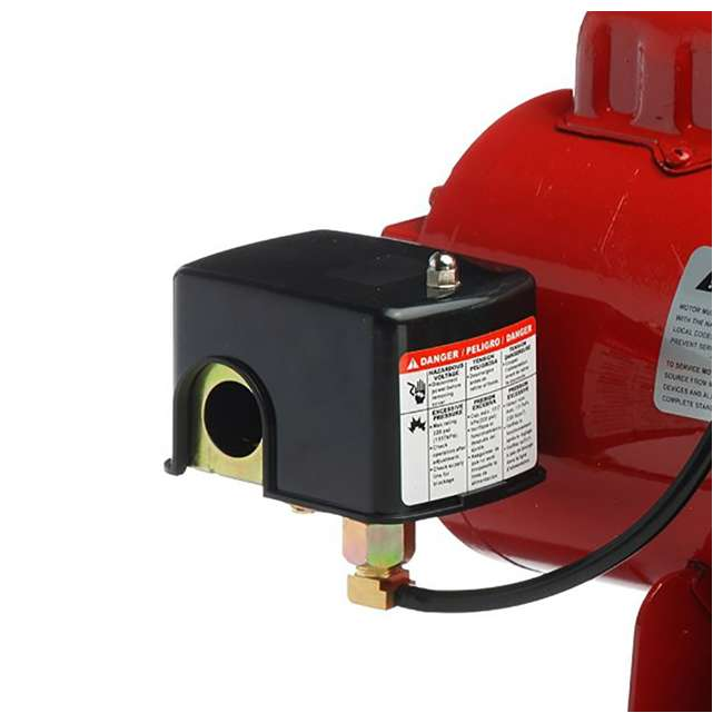 RL-602206-U-C Red Lion RJS-50-PREM .5HP Cast Iron Thermoplastic Shallow Jet Pump (For Parts) 3