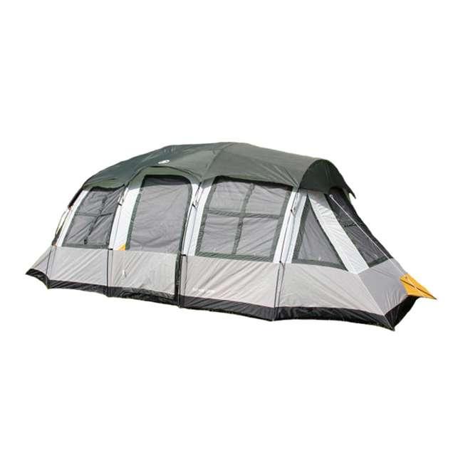 DT201080 Tahoe Gear Prescott 12 Person 3-Season Family Cabin Tent