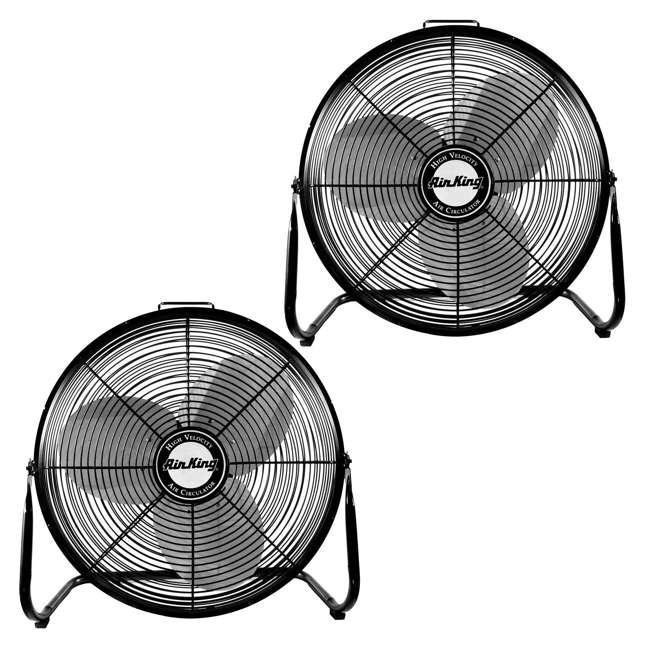 Air king 18 inch 1 6 hp industrial floor fan 2 pack ak for 18 industrial floor fan