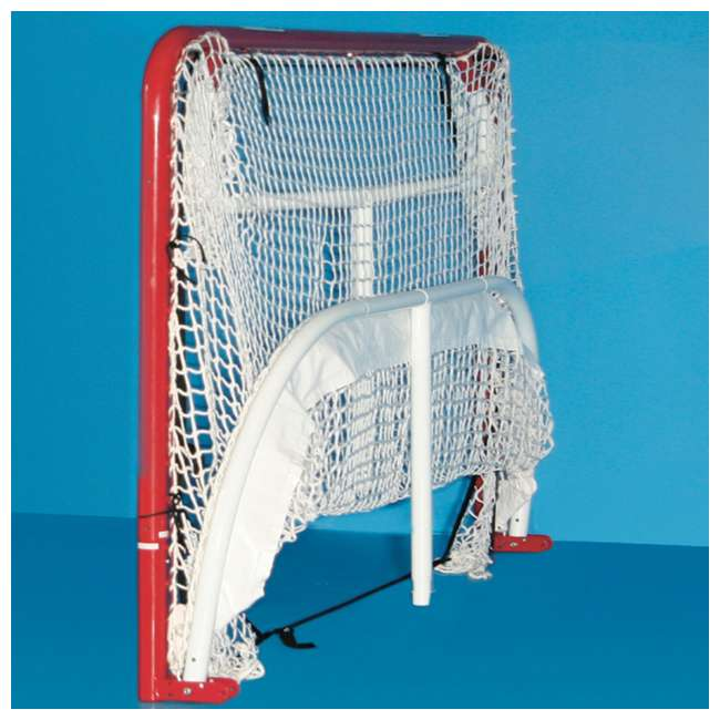 NEOP-67008 EZ Goal Portable Folding Regulation Size Hockey Training Goal Net with Backstop 2