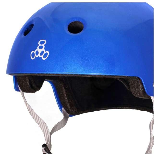 6 x T8-3070 Triple 8 Dual-Certified Skate and Bike Helmet with EPS Liner, Small/Medium (6 Pack) 3