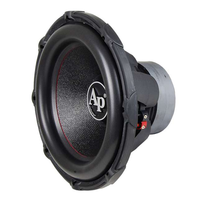 "TXX-BDC2-15-U-B AudioPipe High Power 1800W 15"" 4 Ohm DVC Car Audio Subwoofer, Black (Used) 4"