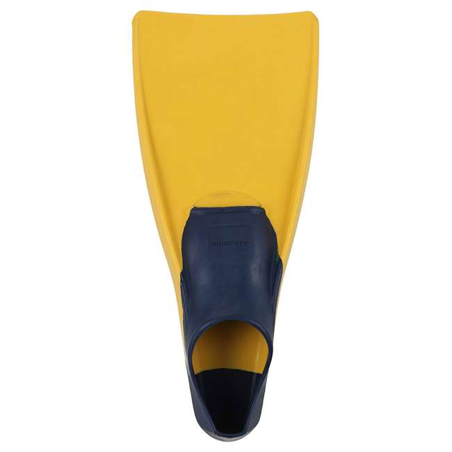 240790-US U.S. Divers Sea Lion Size Medium Floating Snorkeling Fins, Yellow 1