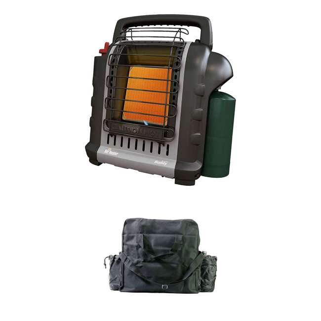 MH-F232017 + MH-13432 Mr. Heater MH-F232017 Portable Buddy Indoor/Outdoor Propane Heater & Carry Bag