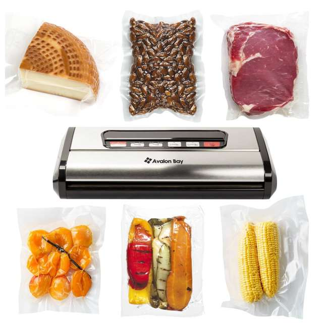 6 x FOODSEALER300S Avalon Bay FoodSealer300S Vacuum Sealer for Food Storage (6 Pack) 2