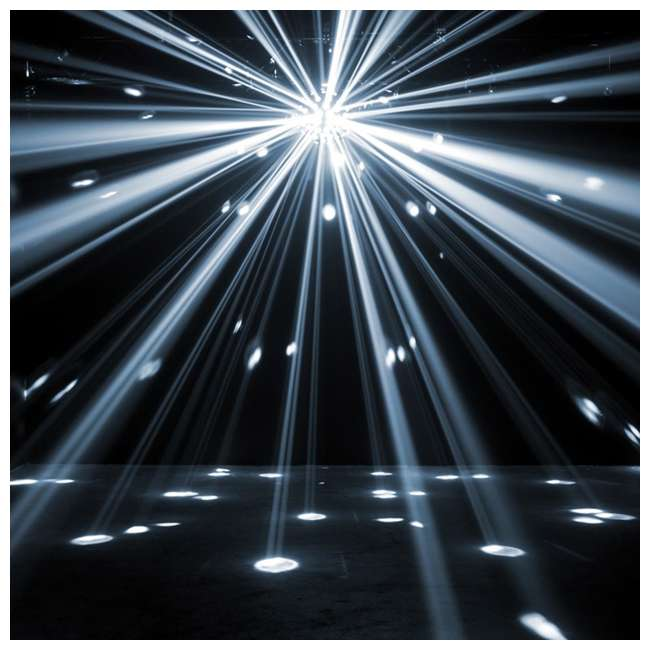 STARBURST American DJ Starburst Multi-Color HEX LED Sphere Lighting Effect 4