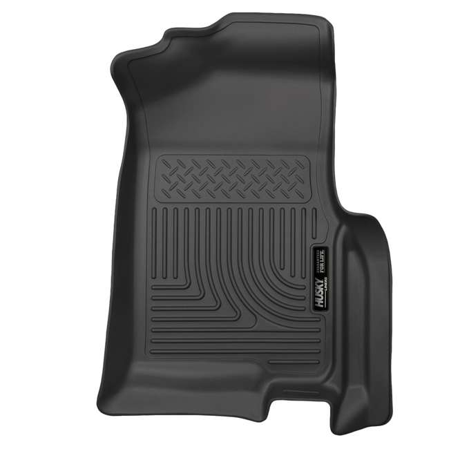 HUSKY-18371-OB Husky Liner Weatherbeater Front Floor Liner for Ford Expedition & Lincoln Navigator 2