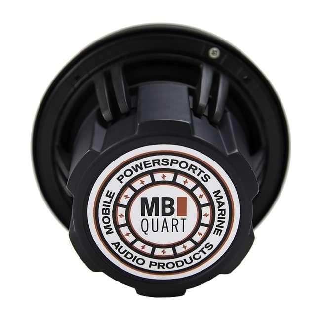 4 x NH1-116B MB Quart NH1-116B 6.5-Inch 150-Watt Marine Audio Speakers (4 Pair) 3