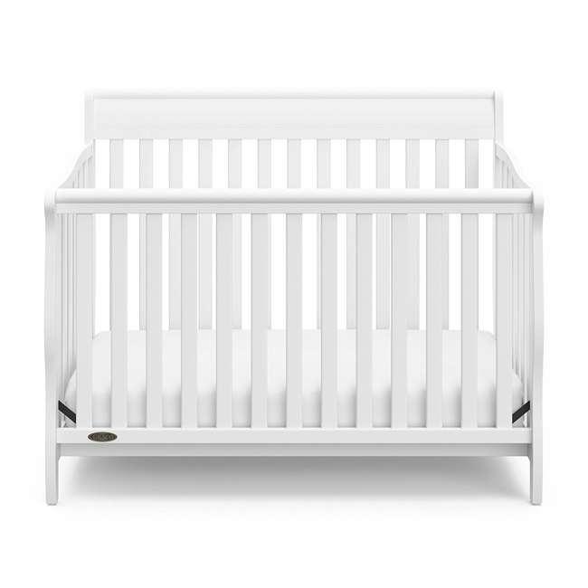 04530-661 Graco Stanton 4-in-1 Convertible Crib, White 3